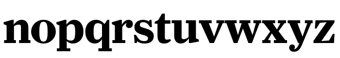 Farnham Headline Bold Font LOWERCASE