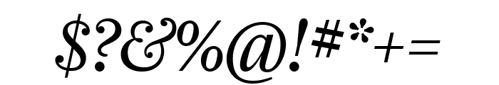 Farnham Headline Semi Light Italic Font OTHER CHARS