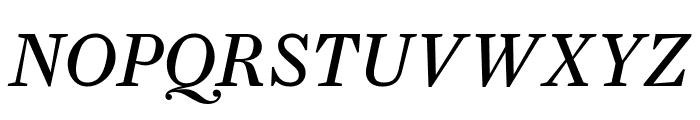 Farnham Text Italic Font UPPERCASE