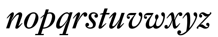 Farnham Text Italic Font LOWERCASE