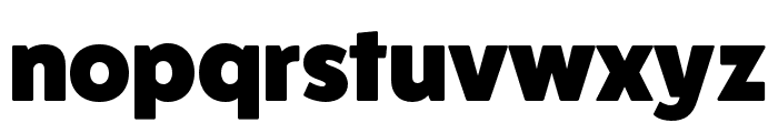 FatFrank Heavy Font LOWERCASE