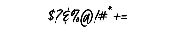 Fave Condensed One Pro Font OTHER CHARS