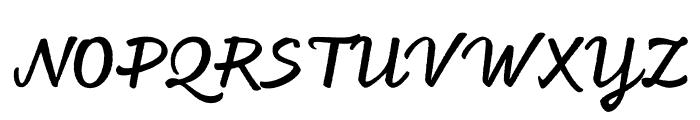 Feltro Shadow Font UPPERCASE