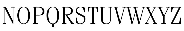 Fenice Pro ITC Light Font UPPERCASE