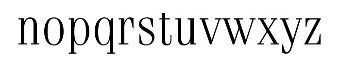 Fenice Pro ITC Light Font LOWERCASE
