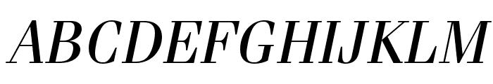 Fenice Pro ITC Oblique Font UPPERCASE