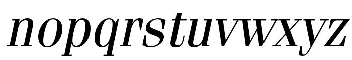 Fenice Pro ITC Oblique Font LOWERCASE
