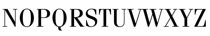 Fenice Pro ITC Regular Font UPPERCASE