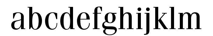 Fenice Pro ITC Regular Font LOWERCASE