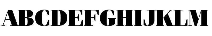 Fenice Pro ITC Ultra Font UPPERCASE