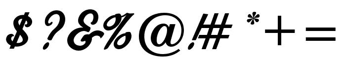 FenwayParkJF Regular Font OTHER CHARS