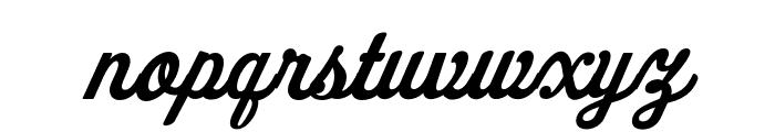FenwayParkJF Regular Font LOWERCASE