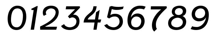 Fenwick Light Italic Font OTHER CHARS