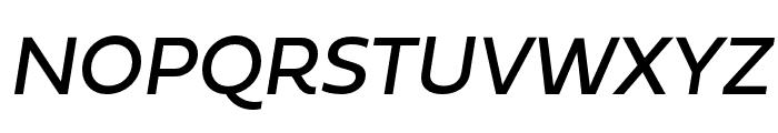 Fieldwork Italic Regular Font UPPERCASE