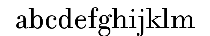 Filosofia Reg Small Caps Font LOWERCASE
