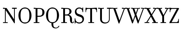 Filosofia Unicase OT Regular Font UPPERCASE