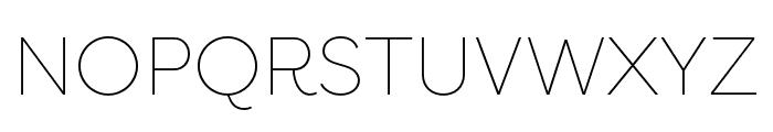 Filson Pro Thin Font UPPERCASE