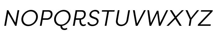 Filson Soft Book Italic Font UPPERCASE