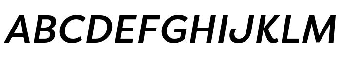 Filson Soft Medium Italic Font UPPERCASE