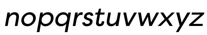 Filson Soft Regular Italic Font LOWERCASE