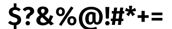 Fira Sans Book Font OTHER CHARS