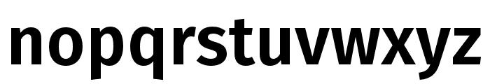 Fira Sans Book Font LOWERCASE