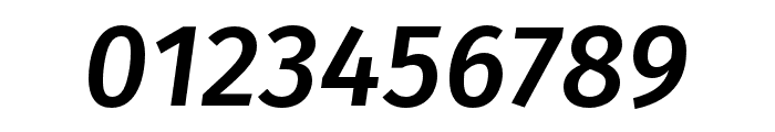 Fira Sans Compressed Medium Italic Font OTHER CHARS