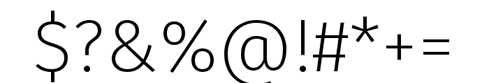 Fira Sans Condensed Four Font OTHER CHARS