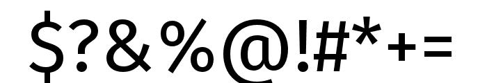 Fira Sans Condensed Medium Font OTHER CHARS