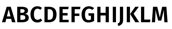 Fira Sans Condensed UltraLight Font UPPERCASE