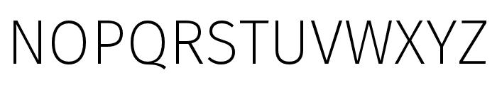 Fira Sans Four Font UPPERCASE