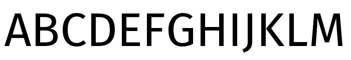 Fira Sans Hair Font UPPERCASE