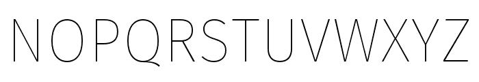 Fira Sans Two Font UPPERCASE