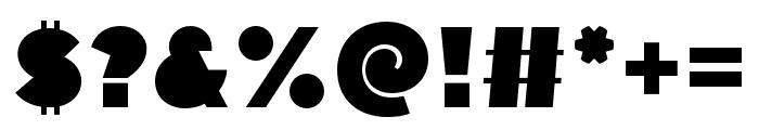 Flegrei Regular Font OTHER CHARS