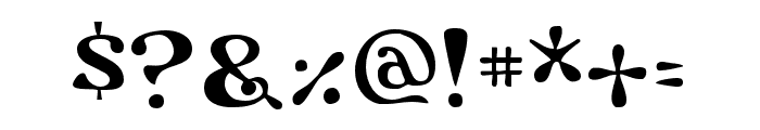 Flower Power Regular Font OTHER CHARS