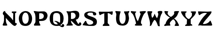 Flower Power Regular Font UPPERCASE