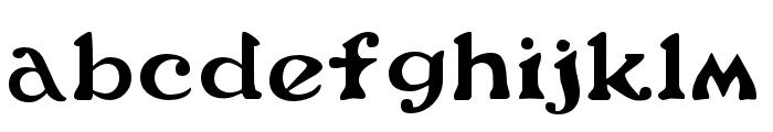Flower Power Regular Font LOWERCASE
