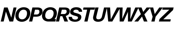 Forma DJR Banner Bold Italic Font UPPERCASE