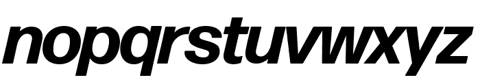 Forma DJR Banner Bold Italic Font LOWERCASE