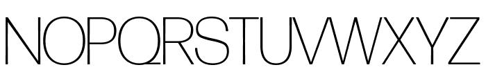 Forma DJR Banner Extra Light Font UPPERCASE