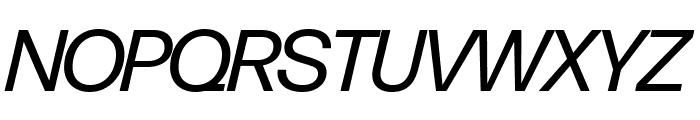 Forma DJR Banner Italic Font UPPERCASE