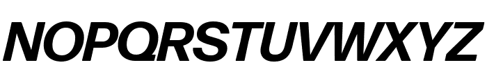 Forma DJR Deck Bold Italic Font UPPERCASE