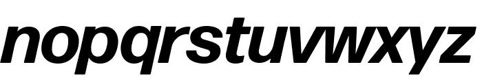 Forma DJR Deck Bold Italic Font LOWERCASE