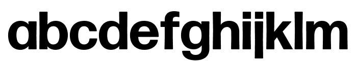 Forma DJR Deck Bold Font LOWERCASE