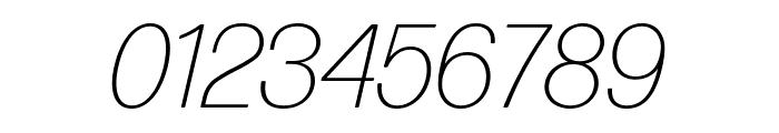 Forma DJR Deck Extra Light Italic Font OTHER CHARS