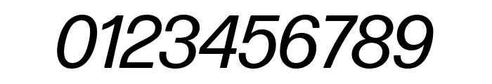 Forma DJR Deck Italic Font OTHER CHARS