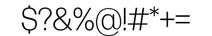 Forma DJR Deck Light Font OTHER CHARS