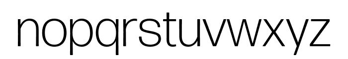 Forma DJR Deck Light Font LOWERCASE