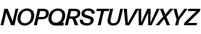 Forma DJR Deck Medium Italic Font UPPERCASE