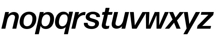 Forma DJR Deck Medium Italic Font LOWERCASE
